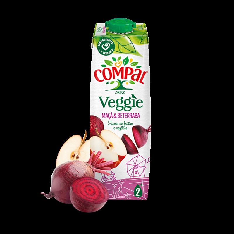 Compal紅菜頭蘋果汁 1L