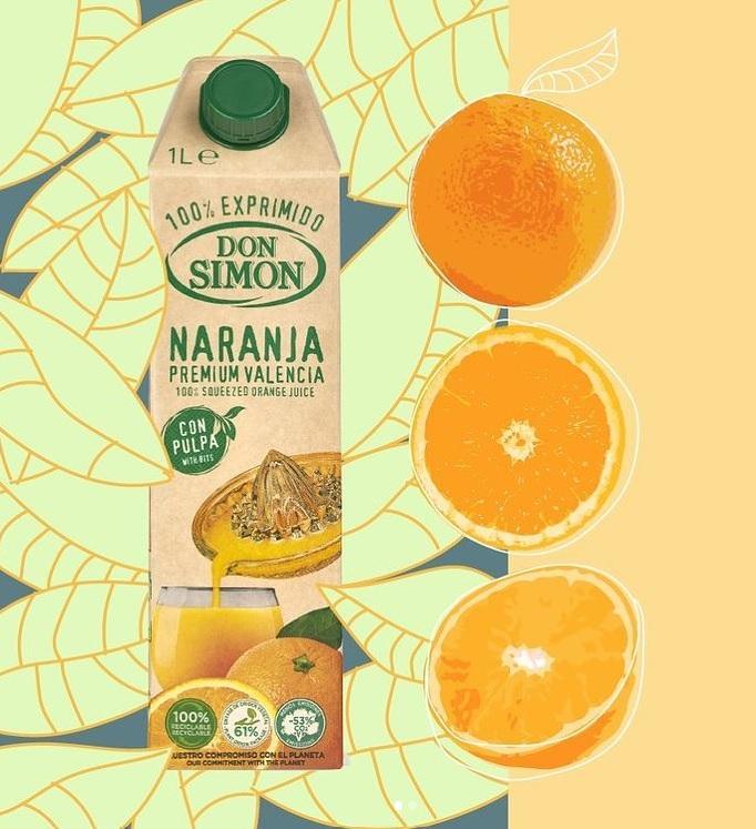 Don Simon 100%純橙汁含果肉 1L