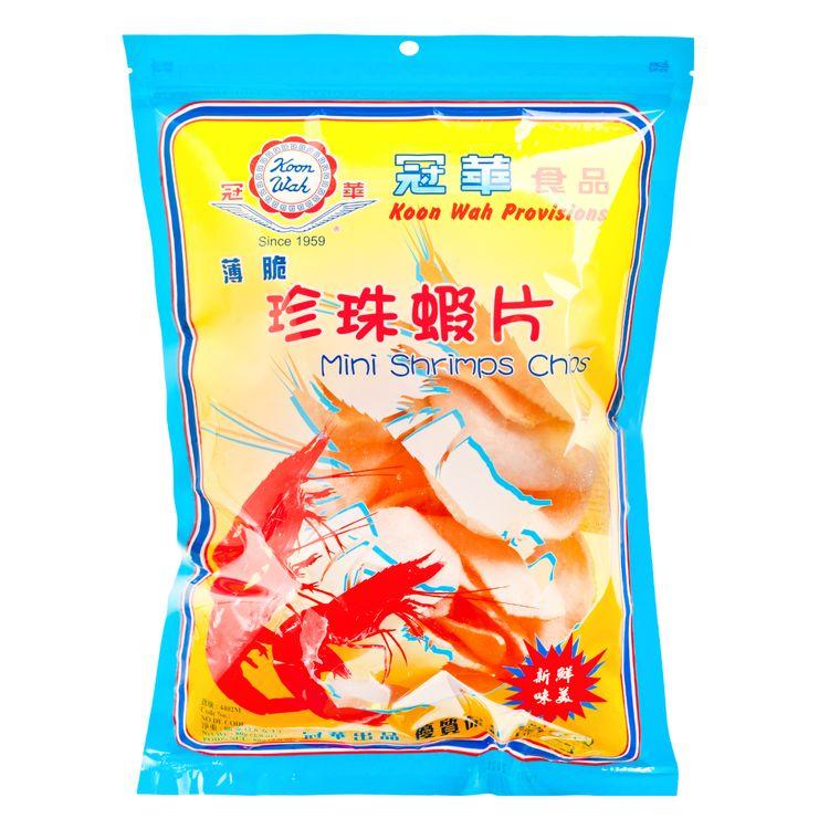 冠華 – 薄脆珍珠蝦片 80g