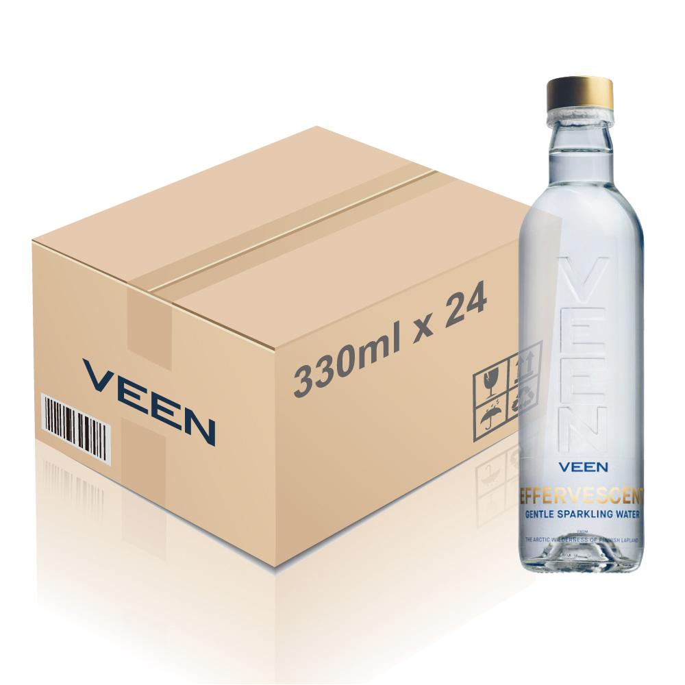VEEN - 薇恩天然有氣礦泉水  (玻璃樽)(一箱)