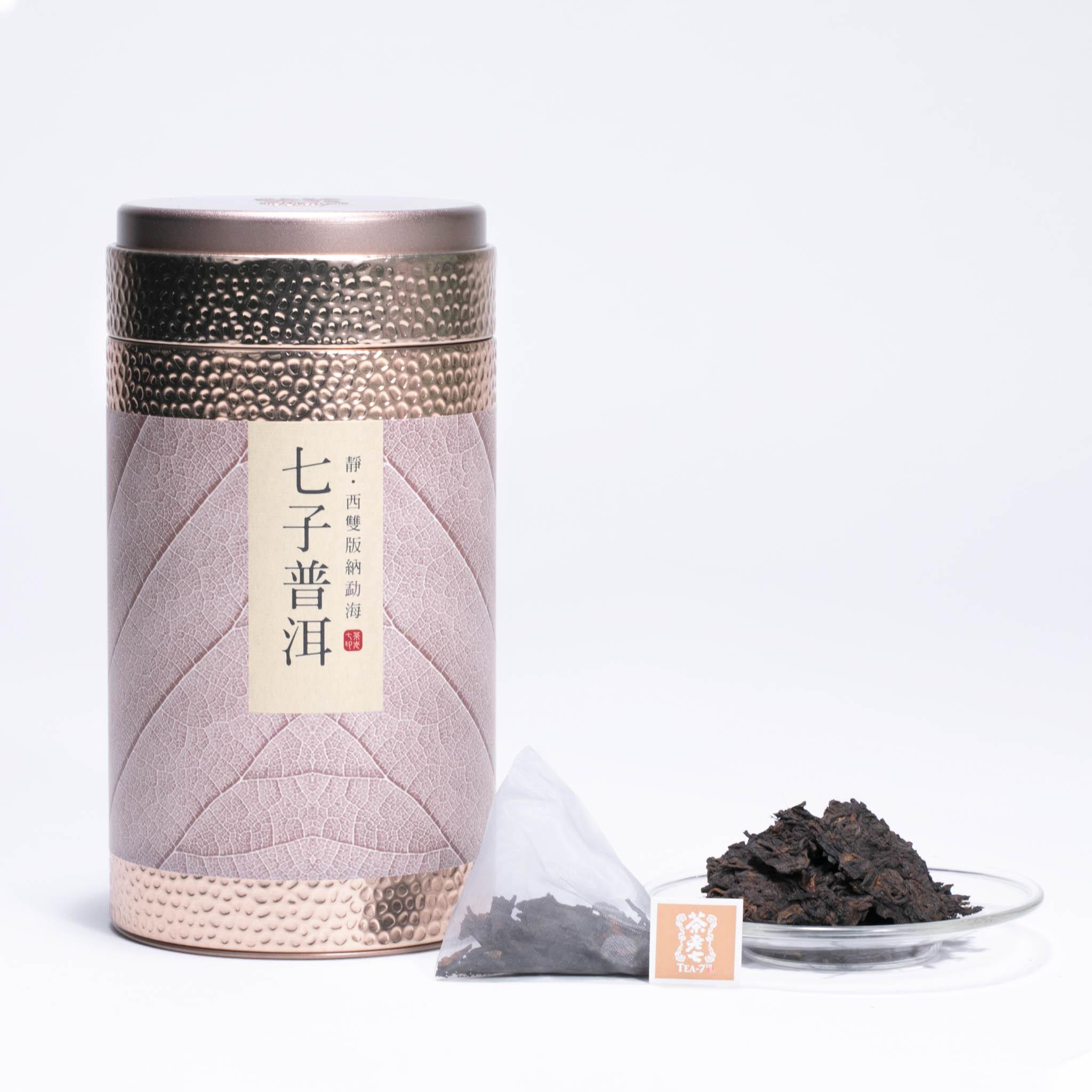 茶老七 2004雲南七子普洱(熟茶)- 茶包