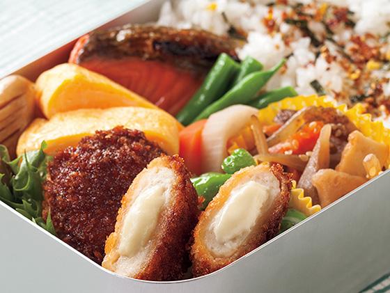 Nichirei吉列芝士雞肉漢堡 132g