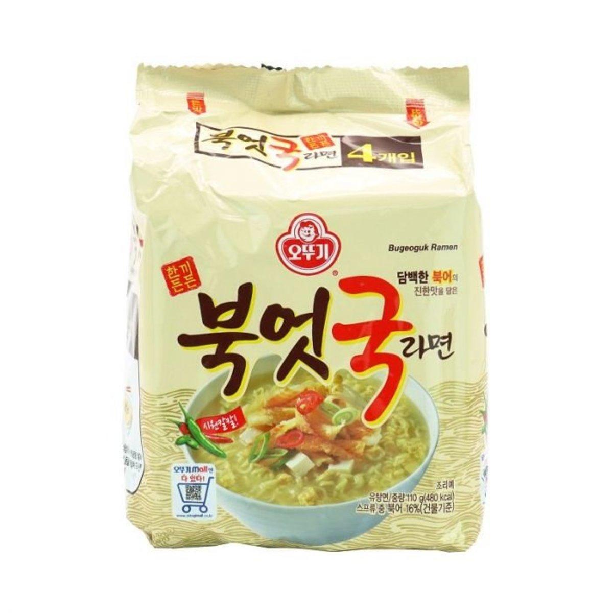 不倒翁韓國明太魚乾湯拉麵(4包)