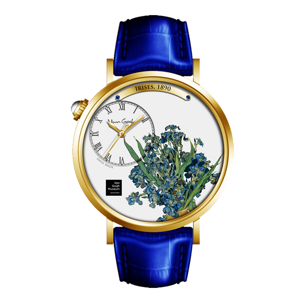 Van Gogh Swiss Watches手表 – S-GMI-11《鳶尾花》