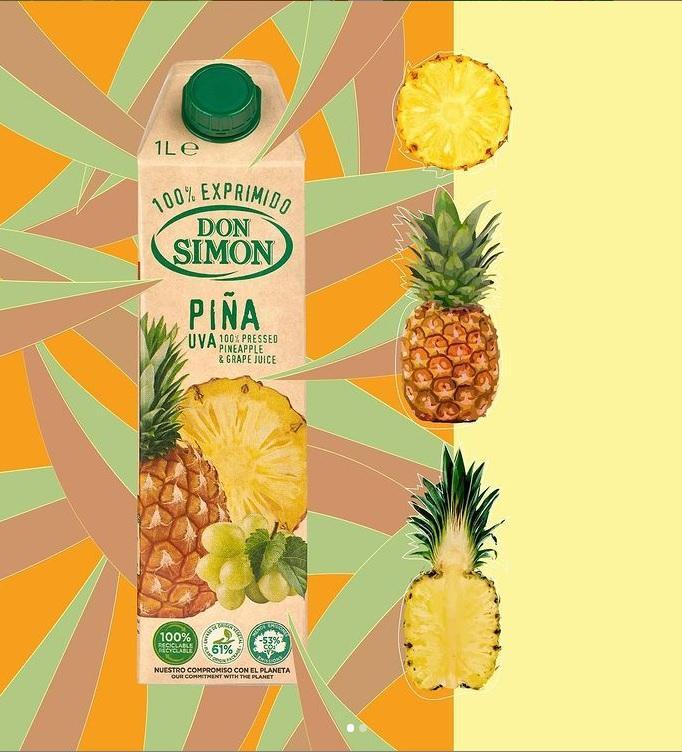 Don Simon 100%純菠蘿提子汁 1L